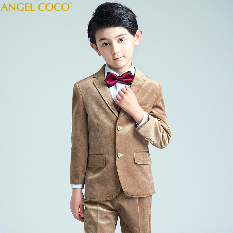купить Nimble Suit For Boy Single Breasted Boys Suits For Weddings Costume Enfant Garcon Mariage Boys Blazer Jogging Garcon Velvet Suit по цене 8105.3 рублей