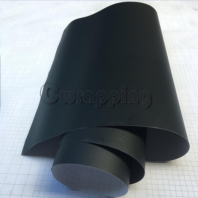 50cmx2m 3m 5m Matte Black Vinyl Car Wrap Car Motorcycle Scooter DIY Styling Adhesive Film Sheet