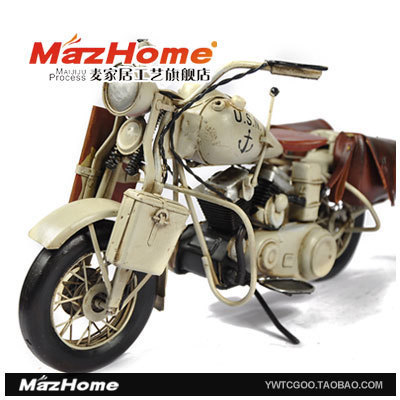 The new 1945 models to do the old-Davidson motorcycles Decoration cafe decoration decorations gift ideas