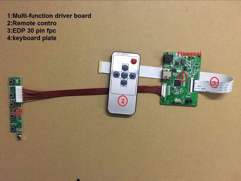 Placa de motorista PCB-800807V6 1hdmi edp do lcd 30pin para a definição 1920*1200 1920*1080 1600*900 1366*768 1280*800 30 pinos edp