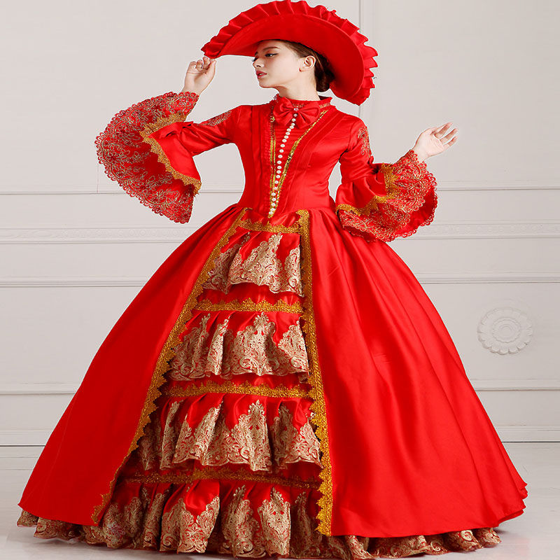 HOT !!! Global Freeshipping 18th Century Renaissance Medieval Marie ...