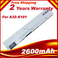 White New Laptop battery For Asus A31-X101 A32-X101 EEE PC Eee PC X101H X101 X101C X101CH Series 3 cells 2200mah 11.1v