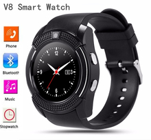 Original Sport Watch Full Screen Smart Watch V8 For Android Match Smartphone Support TF SIM Card Bluetooth Smartwatch PK GT08 U8