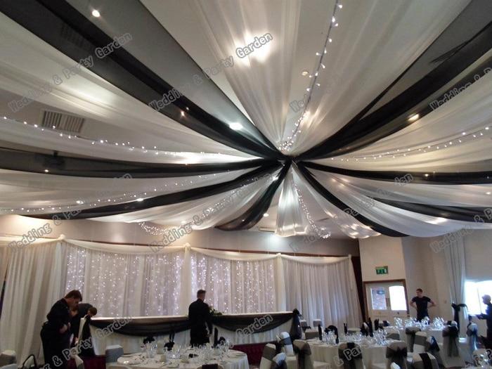 mariage de plafond draper canopy draperie 10 m x 07 m couleur mlange de luxe de marie toit drap de mariage dcor de toit - Aliexpress Decoration Mariage