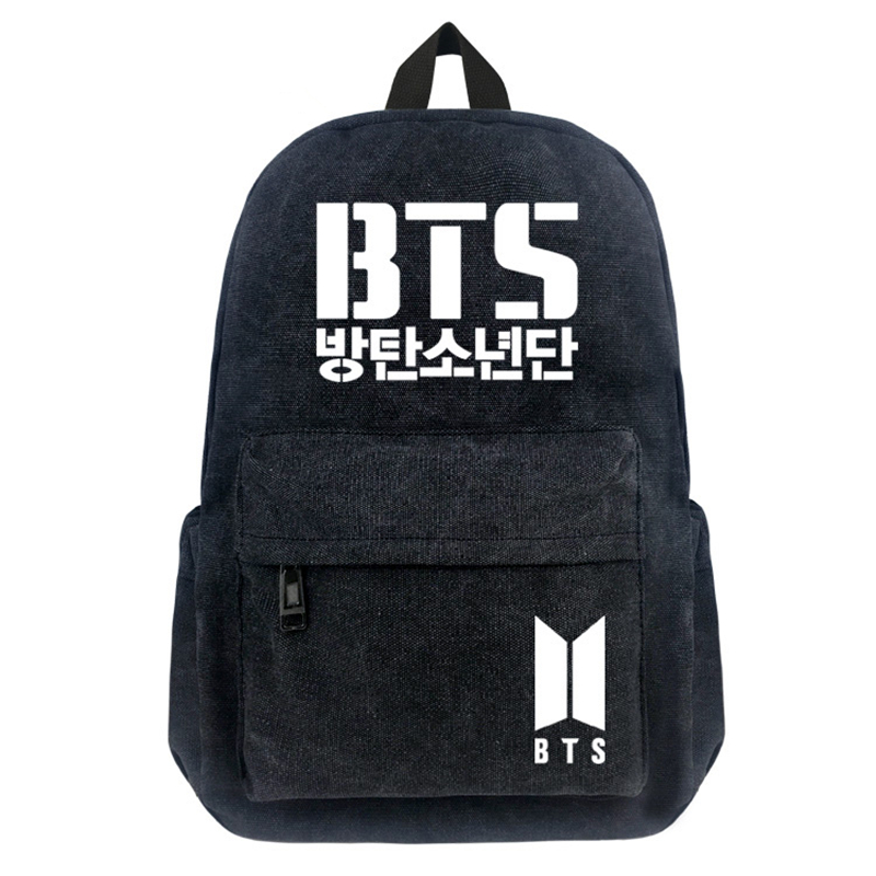 Free Shipping Korean BTS Backpacks For Teenage Boy and Girls backpack Fashion Kpop Bag Mochila Bts Escolar Feminina сумка asics 134934 1087 bts backpack