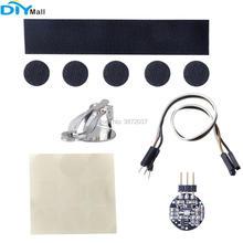 цена на Pulse Sensor Kit Pulsesensor Heart Rate Sensor Module with Cable Sewing-holes for Arduino