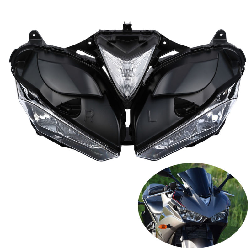 Front Head Light Assembly Headlamp Lighting For Yamaha YZF R3 <font><b>R25</b></font> 2013-2016 2015 image