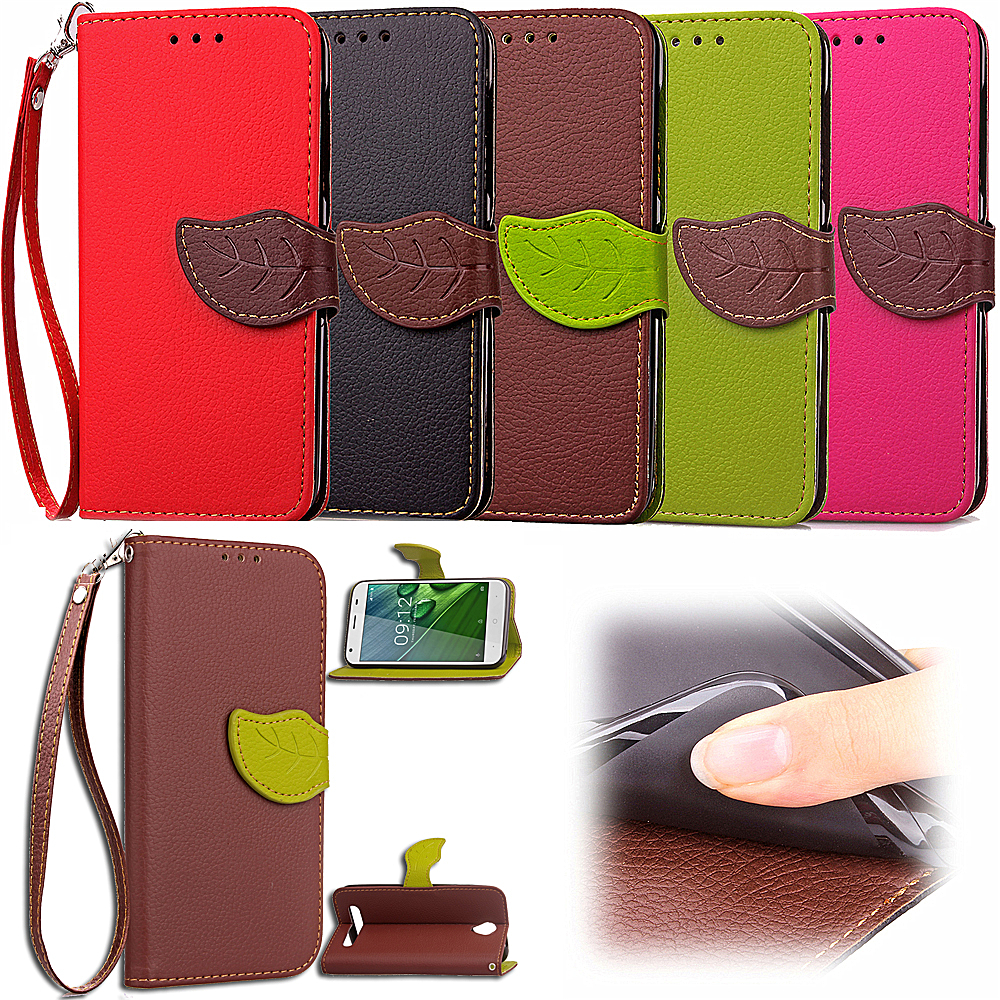 Leaf Case for Acer Liquid Z6 5.0 inch Flip Case Wallet Phone Leather Cover for Acer Liquid Z 6