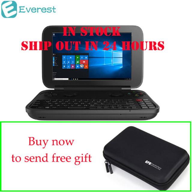 [En la Acción]! GPD GANAR Gamepad Ordenador Portátil NoteBook Windows Tablet PC Consola Handheld Del Juego 4 GB/64 GB Jugador Del Juego De Vídeo Bluetooth 4.1