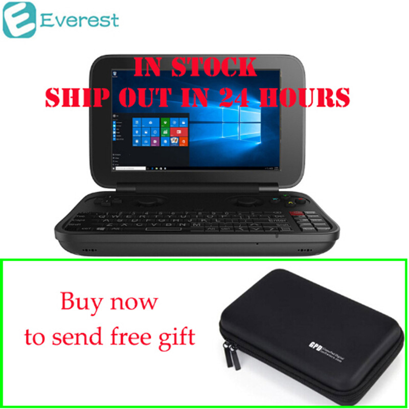 In Stock GPD WIN Gamepad Laptop NoteBook Windows Tablet PC Handheld Game Console 4GB 64GB