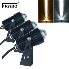 Открытый светодиодный прожектор водонепроницаемый IP65 Настенный светильник узкий угол луча Светодиодный прожектор 3 Вт 10 Вт Точечный светильник на большие расстояния настенный светильник