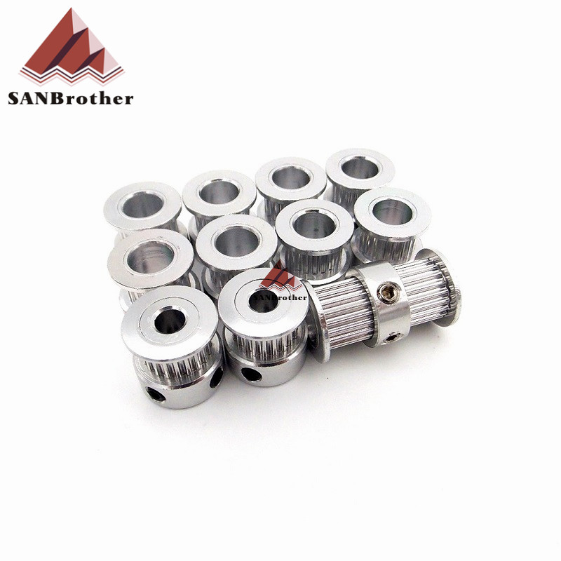 3D Printer GT2 Timing Pulley Kit 3D Printer Parts For Ultimaker 2 UM2 Extended+ GT2 Timing Pulley Wholesale Price Hot!!!!!!