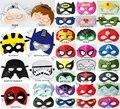 Superhéroe máscara de Superman Batman Spiderman Hulk Thor Iron Man capitán américa traje de halloween para los niños