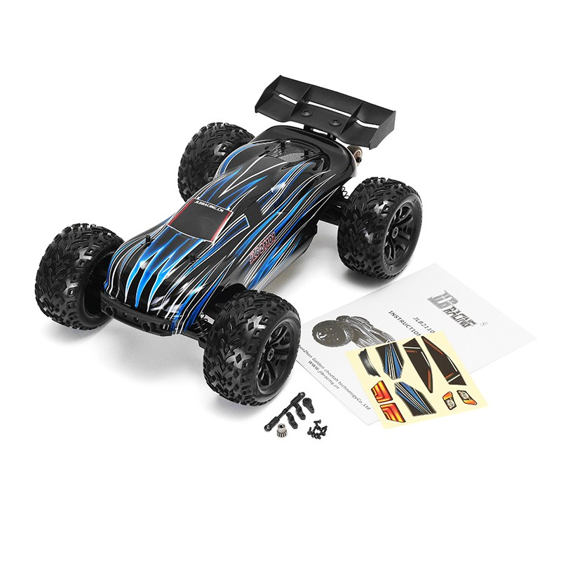 JLB Racing CHEETAH 21101 ATR 1/10 4WD RC Truggy Car Brushless Without Electronic Parts jlb racing cheetah 1 10 brushless rc car truggy 21101 2pcs wheel