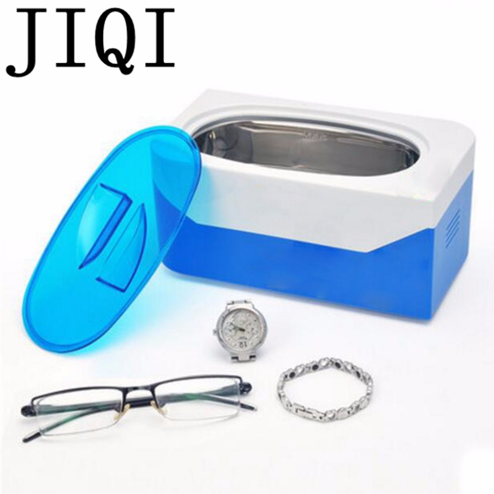 JIQI Ultrasonic cleaning machine household washing machine wash glasses jewelry watch /  timer portable washing glasses artifact  washing machine timer 5 line timer slitless double wash timer interaural