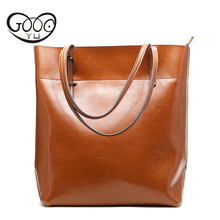 New Fashion Women Handbag Genuine Leather Bag Famous Brand Shoulder Bags Solid Designer Handbags Ladies Hand Bags Women Tote Big