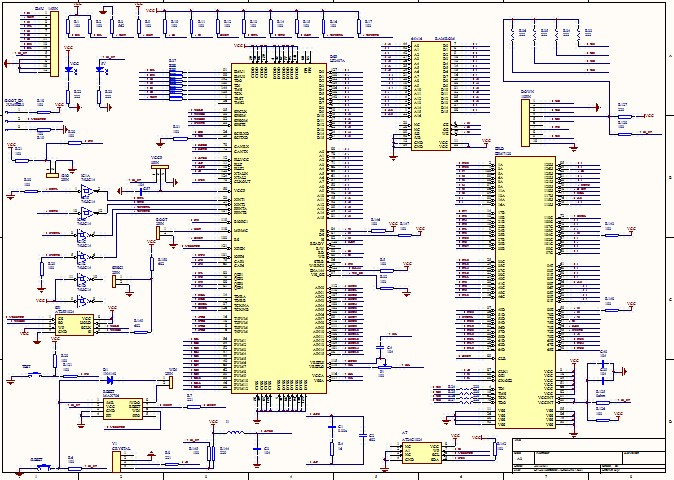 Tms320f2407 development board schematic dsp2407 CAN Bus RS485 RS232
