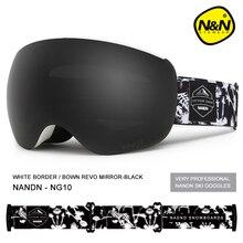 NANDN зимние лыжные очки двухслойные линзы мужские wo мужские лыжные очки