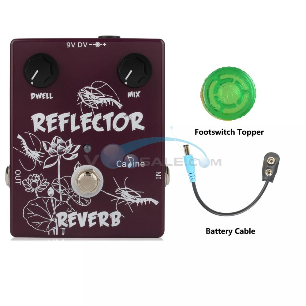 NEW Caline CP 44 Reflector Spring Reverb Guitar Effect Pedal With Aluminum Alloy Housing Guitar Accessories