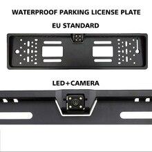 Numeri di Targa di Parcheggio Auto europeo Cornice Numerato Supporto per Jeep Wrangler Jk Accessori Ford Ranger Vw Polo 6r t5