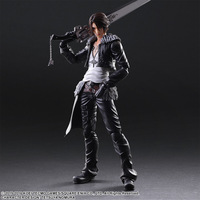 Final Fantasy Squall Leonhart Action Figure Play Arts Toy Doll 25cm