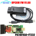 2017 Newest Firmware V1.60 Stable PIC18F458 Chip For Opel Opcom USB CAN-BUS Based Interface Automatic OP COM OP-COM Opel/SAAB