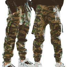 Garçons pantalons Sport pantalons garçons camouflage pantalon coton 2020 printemps automne enfants pantalons bébé garçons pantalons décontractés 10 12 ans enfants pantalons
