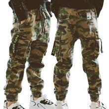 Meninos calças esportivas meninos camo calças de algodão 2020 primavera outono crianças calças do bebê meninos calças casuais 10 12 anos crianças calças