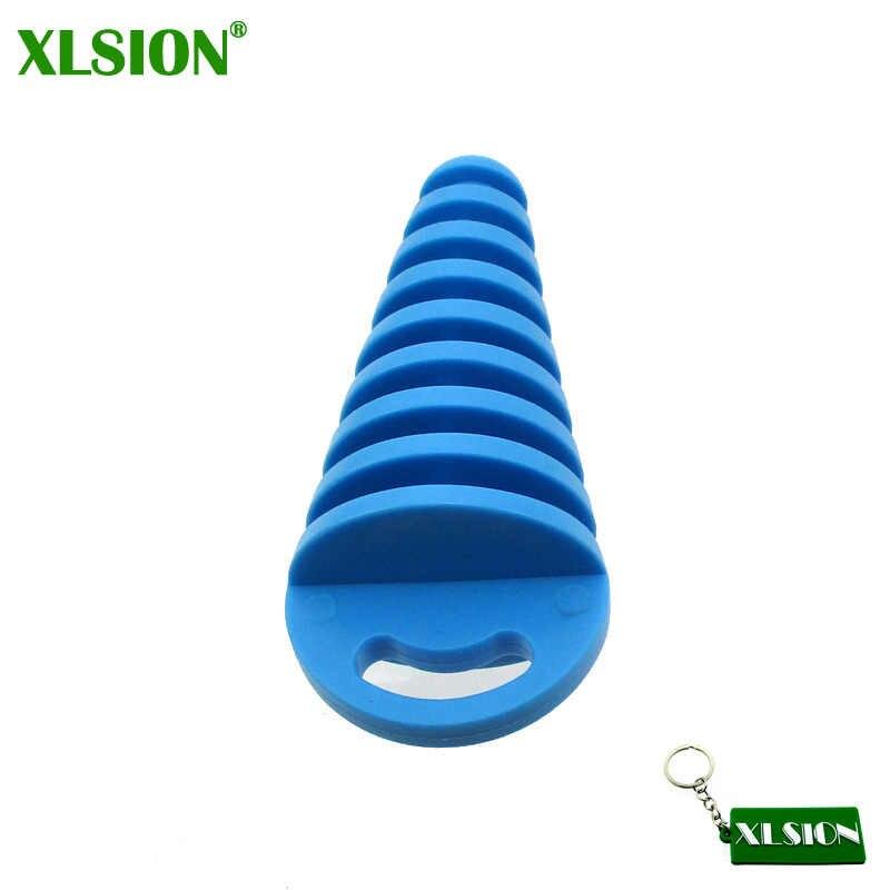 XLSION 2 פעימות צעיף משתיק לשטוף תקע עבור KX RM CR CRF KX RM YZ KTM 80 85 125 150 250