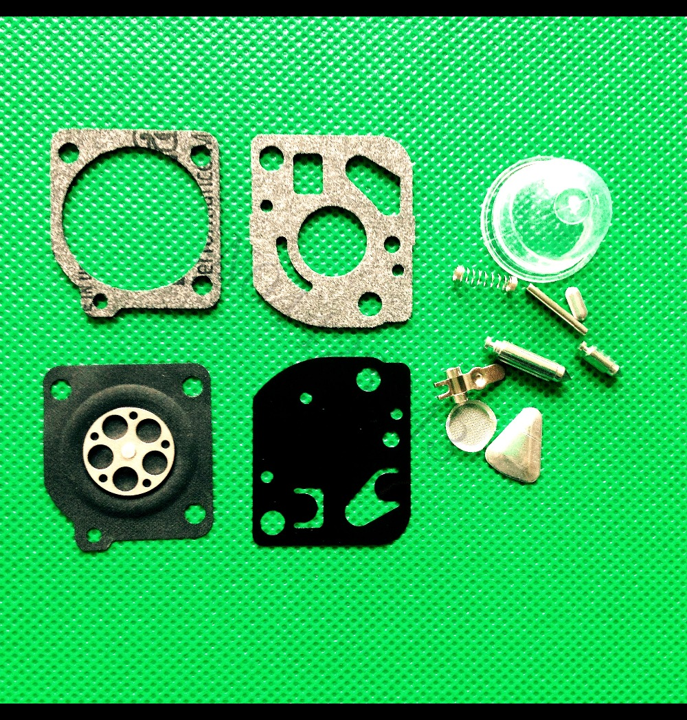 Carburetor Carb Repair Kit For Zama C1Q And C1U ZAMA RB-47 Carburetor Kit Poulan WeedEater Craftsman Trimmers Blowers Carburetor