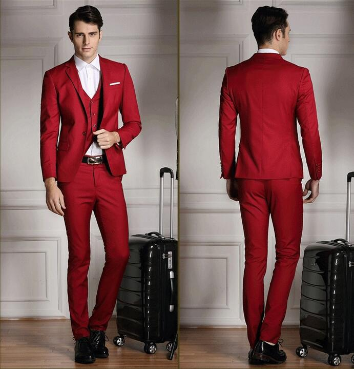Fine Red Prom Suits For Guys Photos - Wedding Dress Ideas ...