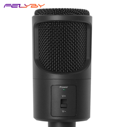 FELYBY New computer microphone USB computer microphone game K song wired microphone