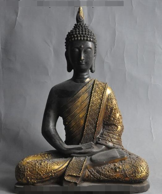 S2469 11 tibet buddhism fane bronze gilt sakyamuni Shakyamuni Tathagata buddha statueS2469 11 tibet buddhism fane bronze gilt sakyamuni Shakyamuni Tathagata buddha statue