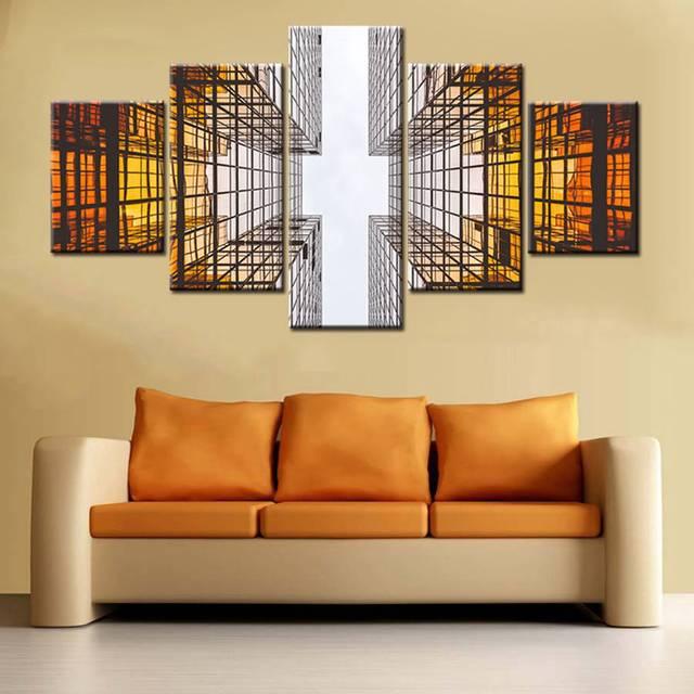 Promoción Decoración de pared póster 3D moderna arquitectura ...