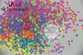 Смешать Неоновые Цвета Устойчивы К Воздействию Растворителей Квадратной Формы Блеск Блестки, Блестки для ногтей украшения Размер: 2.5 мм 1 упаковка = 50 г