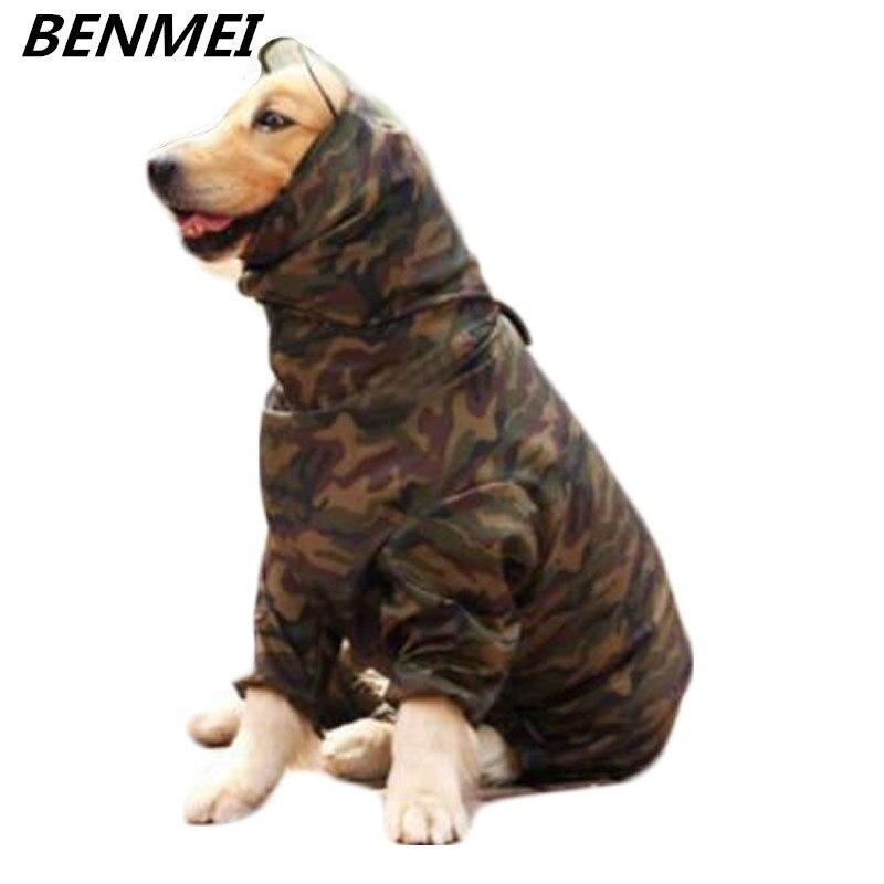 BENMEI Pet Dog Impermeabile Impermeabile Cappotto Giacca Abbigliamento Per Big Dog Cappotto di Pioggia Per Cane di Grandi Dimensioni All'aperto Labrador Golden Retriever