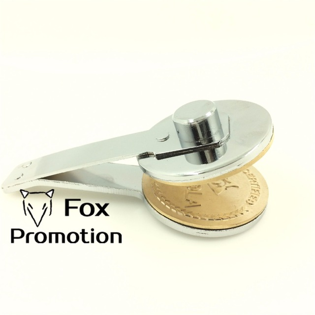 customize embosser seal without holder personalized embossing seal
