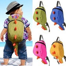Kids Dinosaur Backpack Cartoon Animals Small Plush Bag Personality Backpack for Children Dinosaur Kindergarten Backpack Boys(China)