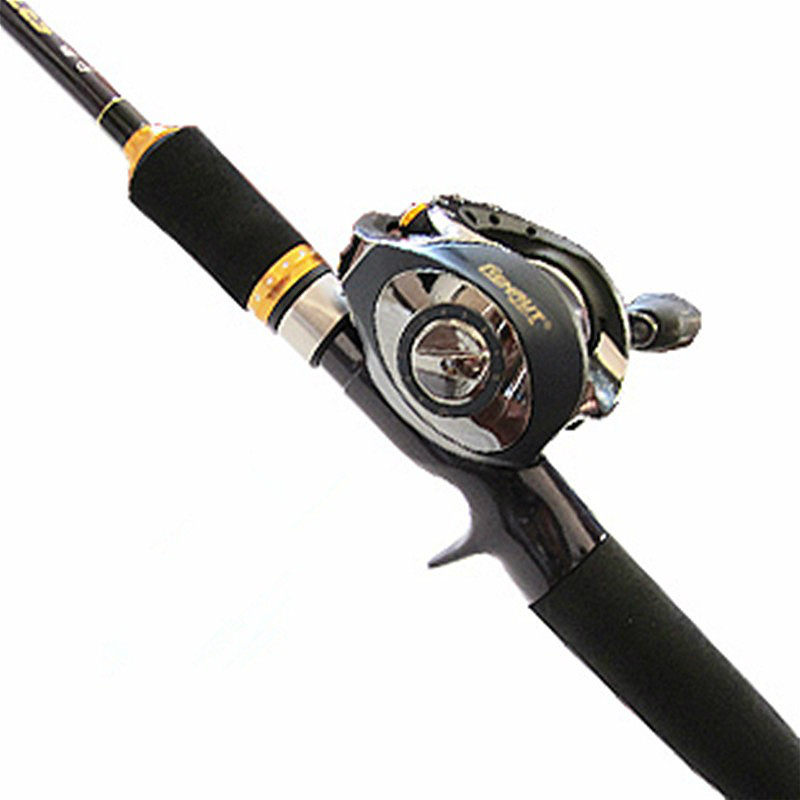 1.98/2.1/2.4m high-carbon lure rod 2 sections bait casting/spinning fish rod 2 tips M/MH telescopic fishing pole fishing tackle high quality fishing rod lure fishing pole super hard durable wood handle road fishing rod fishing tackle 1 8 m 2 1 m 2 4m