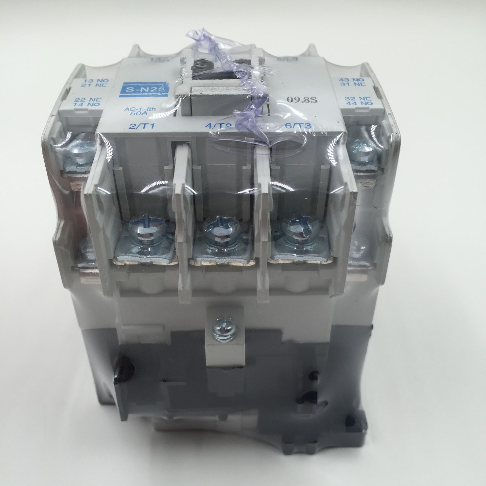 Image 2 - S N25 ac 24v/110V/220v/380V elevator magnetic contactor manufacture-in Contactors from Home Improvement