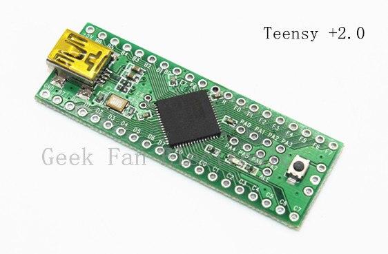 Teensy plus plus 2.0 Teensy +2.0 USB Development Board For Arduino Uno C407 open smart uno atmega328p development board for arduino uno r3