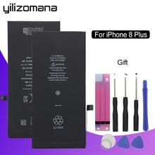 YILIZOMANA Original Replacement Phone Battery For Apple iPhone 8P 8Plus 8 Plus Capacity 2691mAh Genuine Li-ion battery + Tools