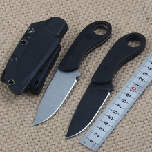 NEW Small Dragon Ball Fixed Knife StoneWash D2 Blade G10 Outdoor Survival Camping Knife Tactical Utility Multitool EDC Tool