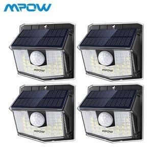 4 Pack Mpow 30 LED Solar Light