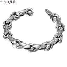Браслет из 100% серебра 925 пробы с драконом браслет стерлингового