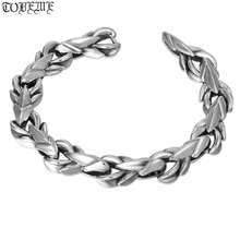 Handmade 100% 925 Silver Dragon Skin Bracelet 925 Sterling Man Bracelet Thai Silver Power Dragon Bracelet handmade 999 silver dragon bracelet pure silver power dragon beads bracelet good luck bracelet