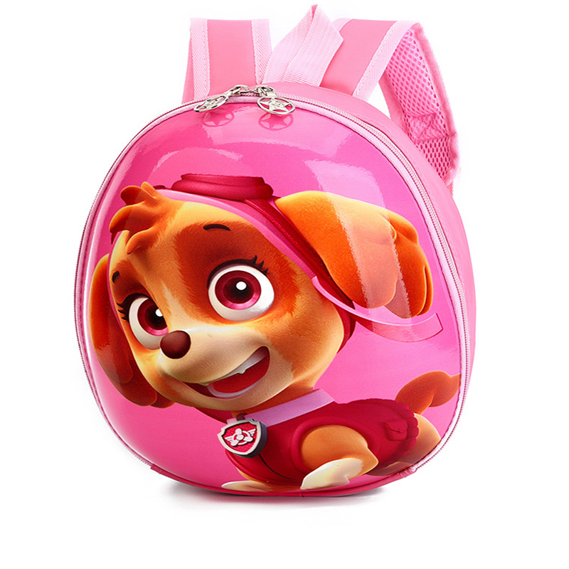 3D Hard shell Schoolbag Girl Backpack Child Puppy Schoolbag Cute Cartoon Boy Backpack Student School Backpack Baby Bag Schoolbag