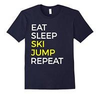 Fun Skies Jumping T Shirt Awesome Skies Jump TeesT Shirts 100% CottonT-Shirt Men High Quality Tees