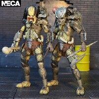 Movies cartoon toys predators VS aliens 30th anniversary P1 Classic Hunter jungle hunter devil action figure model toys