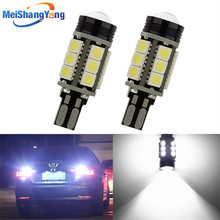 2pcs W16W LED Canbus T15 Led Bulbs Reverse Light 921 912 5050 SMD COB Car External Backup Rear Lamp 12V 6000K White Auto цены онлайн